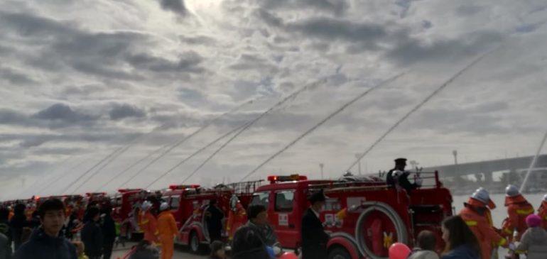 西宮市消防出初式