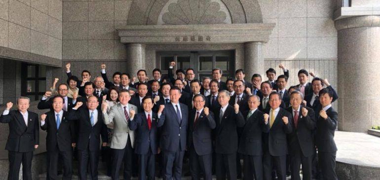 兵庫県議会自民党議員団からの応援
