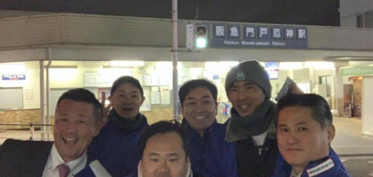 兵庫県議会議員選挙の中日